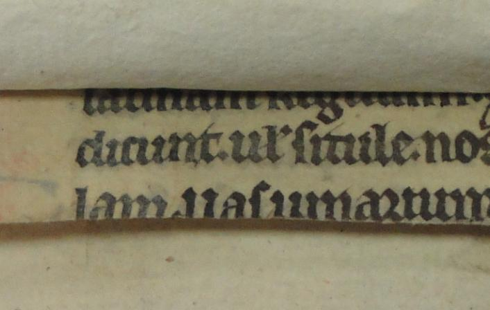 Colchester Harsnett H.d.11 front strip recto