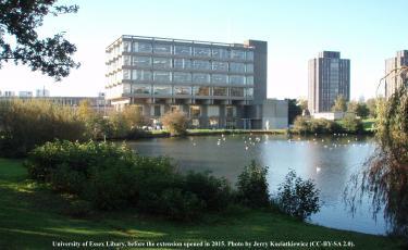 University of Essex Library, photo by J Kociatkiewicz