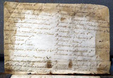 Colchester Harsnett K.d.23 ii second verso