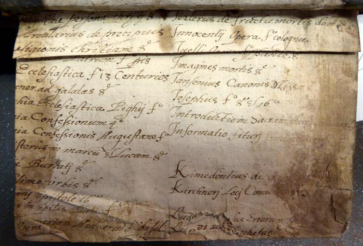 Colchester Harsnett K.d.23 i first recto