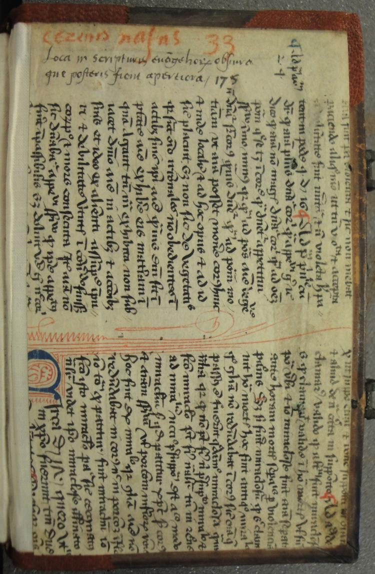 Colchester Harsnett I.d.3 back pastedown upright